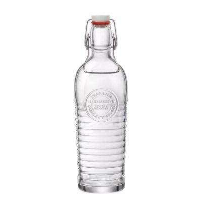 Bormioli Rocco ボルミオリロッコ オフィシーナ ボトル 1160ml Officina 1825 ガラス 瓶