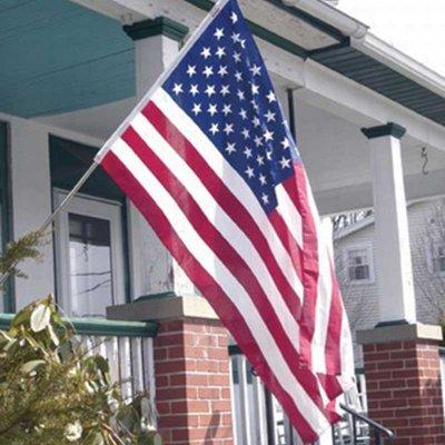 Valley Forge Flag 星条旗 アメリカ 国旗 3'X5' W156×H84cm メール便可