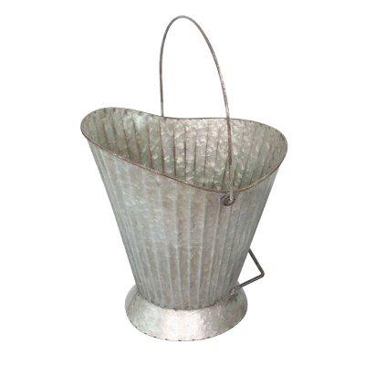 ブロカント コールバケツ 石炭バケツ 鉢カバー Lサイズ