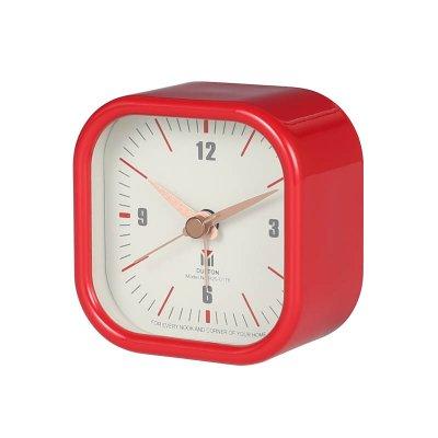 ダルトン スクエア アラームクロック 目覚ま時計 レッド