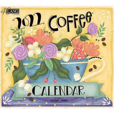 2022年LANGラングカレンダー  Coffee コーヒー