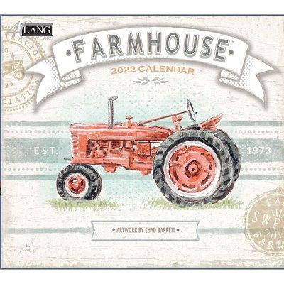 2022年LANGラングカレンダー Farmhouse ファームハウス