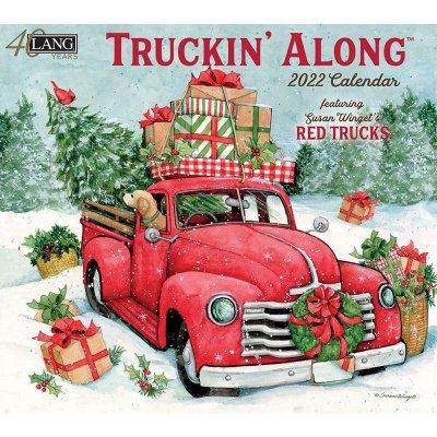 2022年LANGラングカレンダー Truckin' Along トラッキンアロン ピックアップトラック