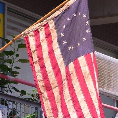 星条旗 ベッツィ・ロス・フラッグ 13スター 3'X5' (140cmX84cm) アメリカ製  送料無料