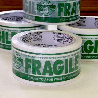 DULTON(ダルトン) パッキングテープ FRAGILE PPT-5 グリーン