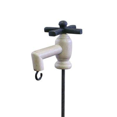 ハンギングフック ガーデンタップスティック 水栓 蛇口