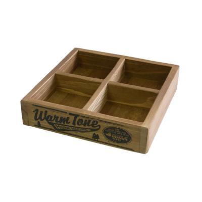 DULTON ダルトン BONOX ウッデンボックス 木箱 4仕切り