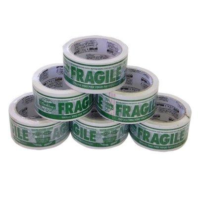 DULTON(ダルトン) パッキングテープ FRAGILE PPT-5 グリーン 6巻