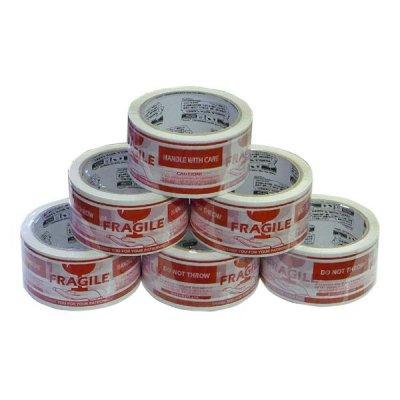 DULTONダルトン パッキングテープ FRAGILE ハンド PPT-3 6巻セット