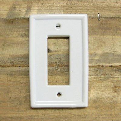 スイッチプレート/コンセントプレート (3穴) ブランカ