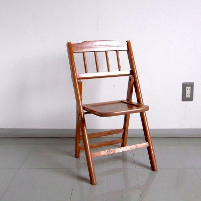 ヴィンテージ チャイルドチェア 子供 椅子折りたたみ Balee Tenda 送料無料 【USED】