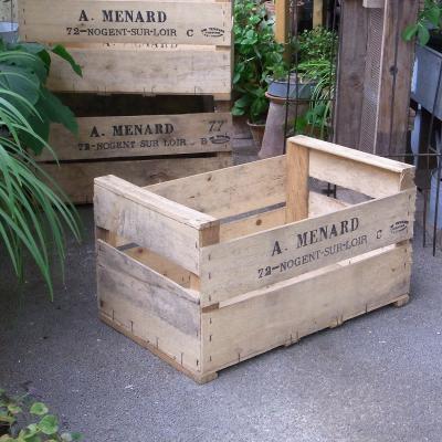 フレンチフルーツボックス アンティーク木箱【USED】