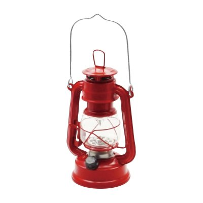 ハリケーンランタン LEDライト レッド