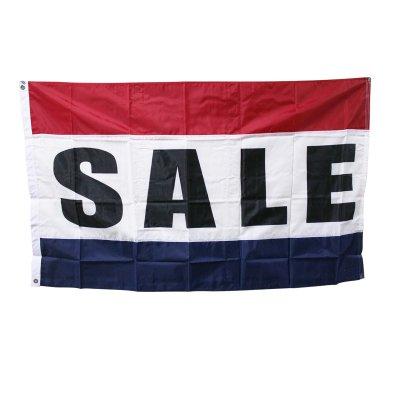 SALEセール旗 3'X5' (156cmX84cm) ナイロン アメリカ直輸入 メール便可
