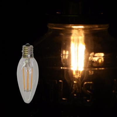 シャンデリアLED電球 E17