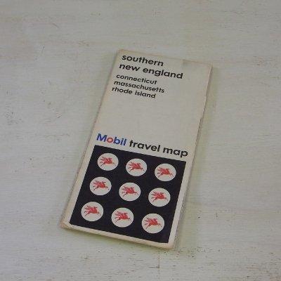 ヴィンテージ マップ アメリカ 地図 Southern New England メール便・ネコポス便可【USED】