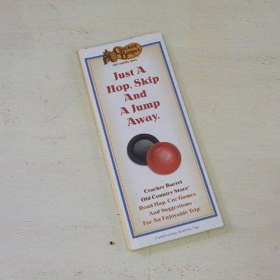 ヴィンテージマップ アメリカ 地図  Craker Brrel クラッカーバレル メール便・ネコポス便可【USED】
