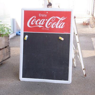 ヴィンテージ コカ・コーラ チョーク・メニューボード 黒板【送料無料】