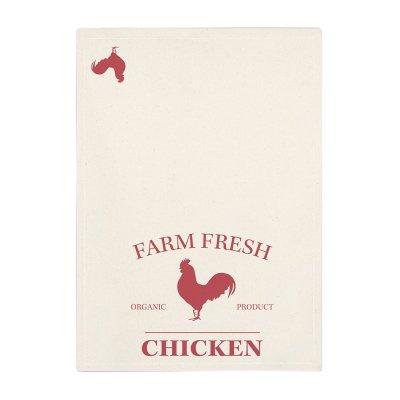 ディッシュクロス 布巾 Farm Fresh Chicken ファーム フラッシュ チキン ニワトリ メール便・ネコポス便可