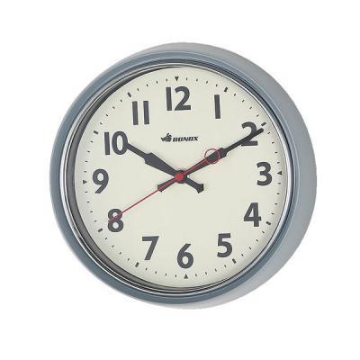DULTONダルトン BONOXウォールクロック 掛け時計 グレイ