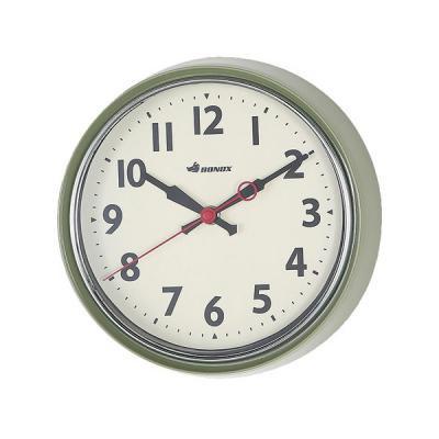 DULTONダルトン BONOXウォールクロック 掛け時計 セージグリーン
