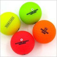 マスターバニー ゴルフウェアレディース Neon★マットカラーボール(2個セット)