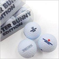 マスターバニー ゴルフウェアレディース 公認球◆マットホワイトボール1スリーブ