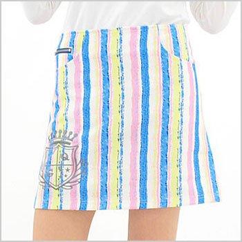 CU 手書き風Stripe★一体ペチスカート