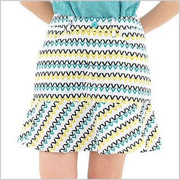 VH VHモノグラム一体ペチ撥水スカート