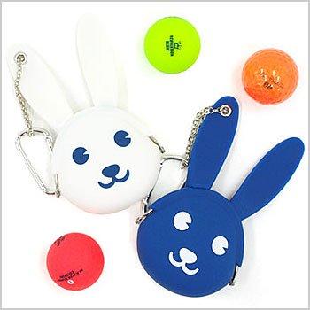 JB Bunny型☆シリコンがま口ポーチ