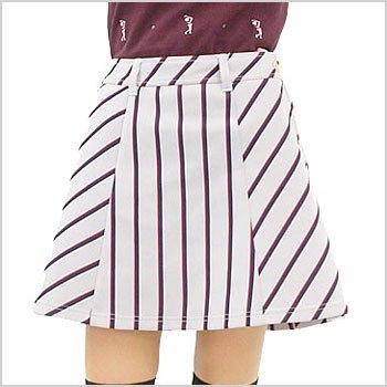 VH レジメンタルストライプ★フレアスカート