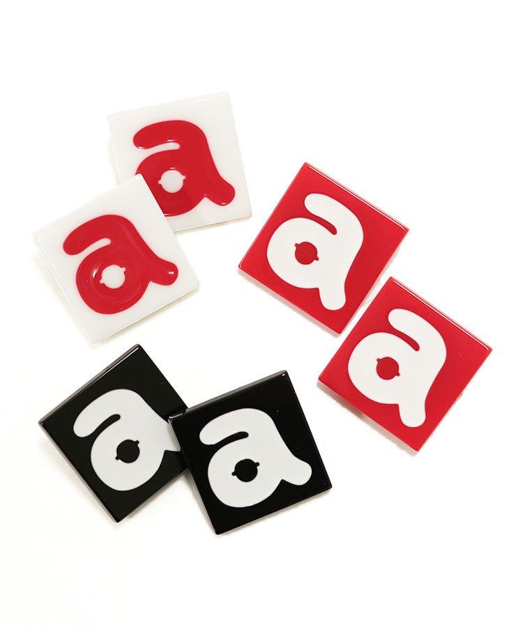 アルチビオ ゴルフウェアレディース 「a」ロゴ♪タイル風シューズクリップ