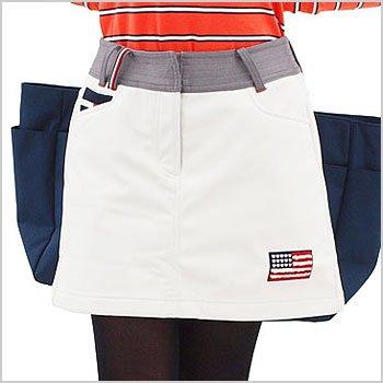 TH Americanワッペン★裏フリーススカート