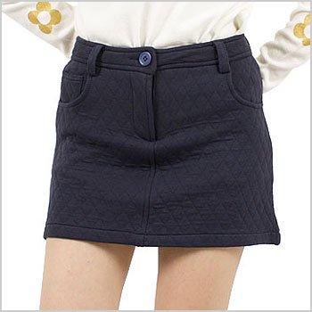 EF キルティング◆一体ペチスウェットスカート