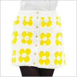 CA ふわふわ♪デイジー防風Warmラップスカート