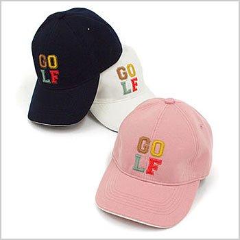 JR カラフル「GOLF」ロゴ◆スウェットキャップ