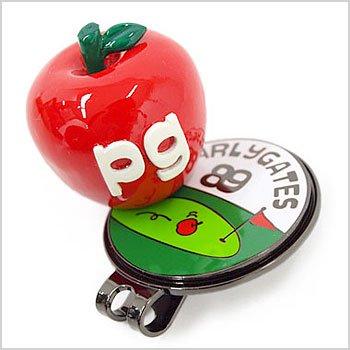 PG 立体りんご柄★トップマーカー