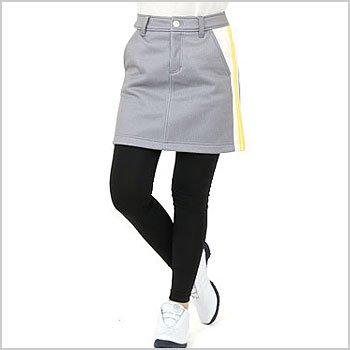 VH レギ付◆SIDEライン裏フリーススカート
