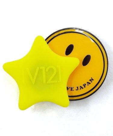 VI Smile&Star★シリコントップマーカー(イエロー)