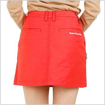 マスターバニー 18春夏新作 ゴルフウェアレディース HIPポケロゴ刺繍◆一体ペチスカート
