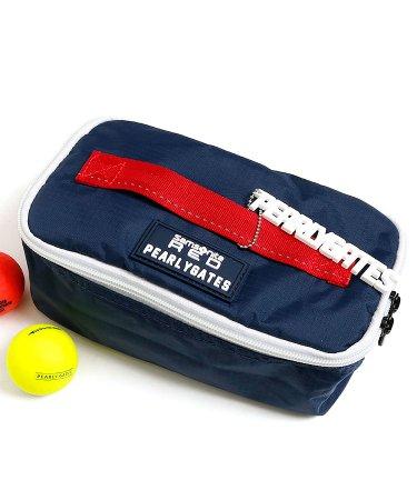 パーリーゲイツ 18春夏新作 ゴルフウェアレディース Samsonite◇BOX型ポーチ
