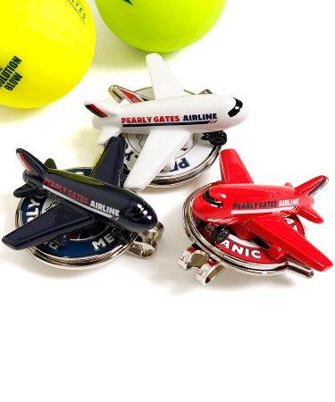 パーリーゲイツ 18春夏新作 ゴルフウェアレディース 3D!Airplane型トップマーカー