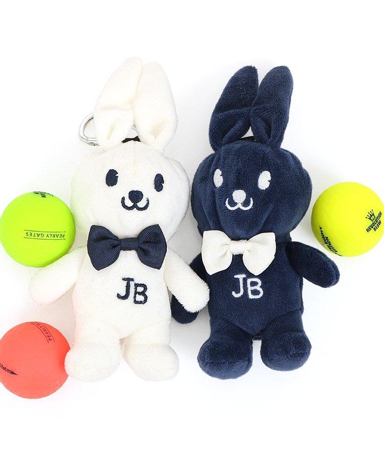 ジャックバニー 18春夏新作 ゴルフウェアレディース ふわBunny♪立体型ボールポーチ