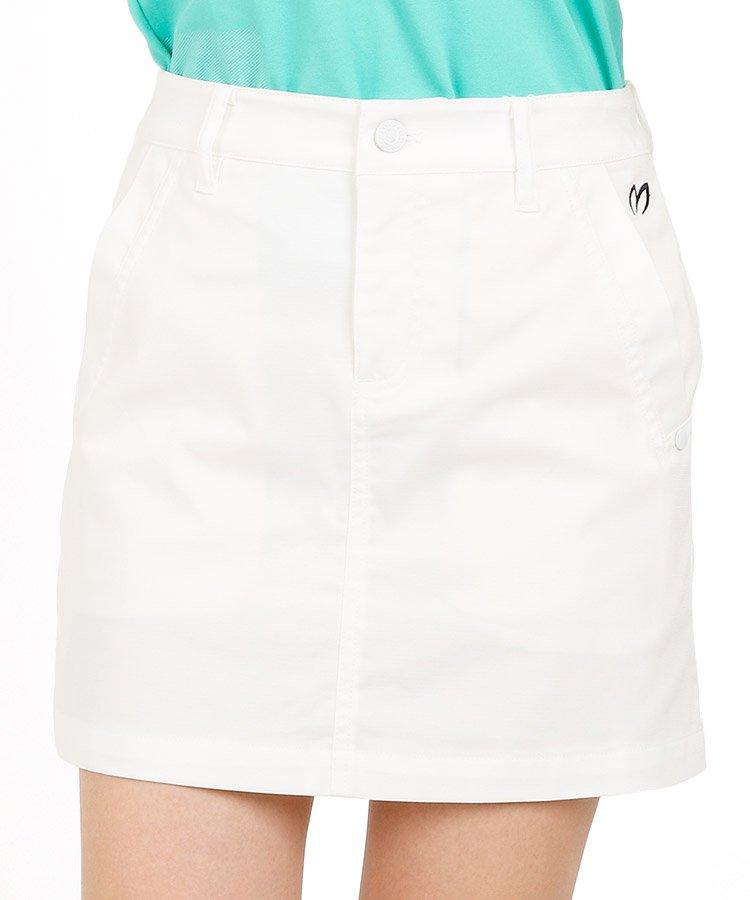 マスターバニー 18春夏新作 ゴルフウェアレディース Backロゴ刺繍◆一体ペチスカート