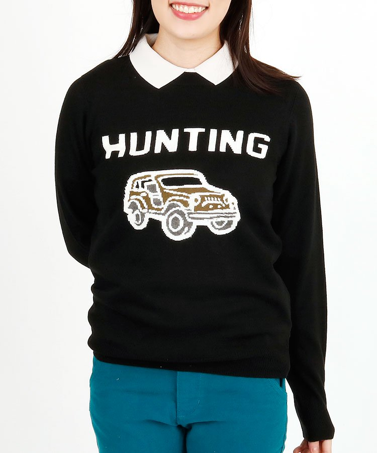 JB [HighFive]HUNTING★JEEPジャガードニット