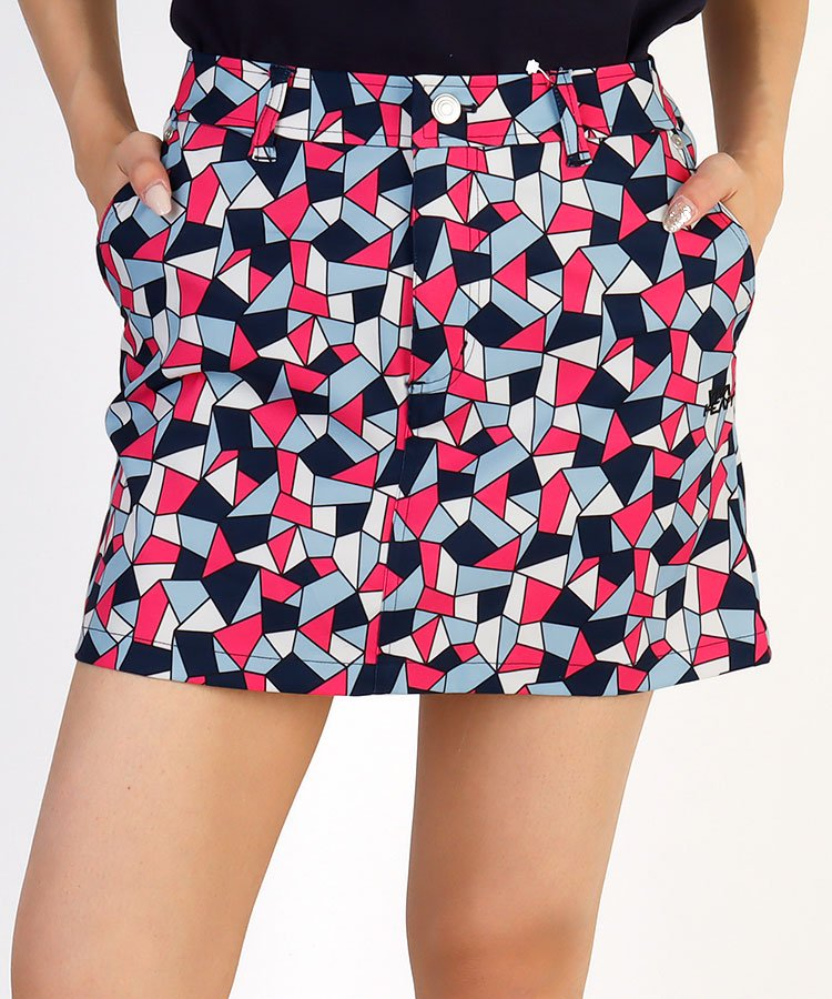 VH モザイク柄Print◆ストレッチスカート