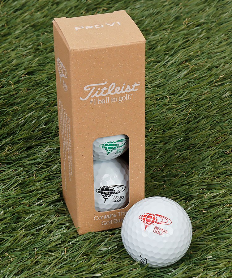 BE Titleistコラボ◆ProV1ボールセット