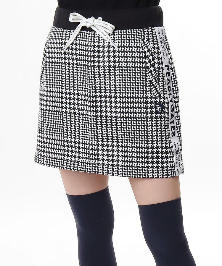PG グレンチェック★スウェットスカート