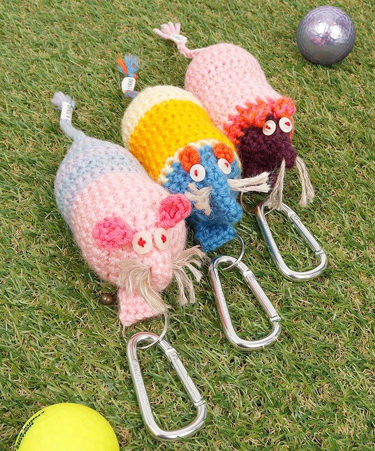 ねずみのボールホルダー ゴルフウェアレディース ChuChuマウス♪ほっこりボールホルダー