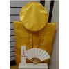 【レンタルちゃんちゃんこ】金色(黄色)のちゃんちゃんこ(鶴亀柄)埣寿のお祝いセット[102歳]